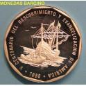 1989- REPUBLICA DOMINICANA - 1 PESO - PIEFOR