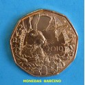 2019 - AUSTRIA - 5 EUROS - COBRE - PASCUA  CONEJO - OSTERREICH -MUNZE