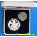 1995 -  ANDORRA - 10 DINERS- 25 CENTIMOS - FAO -PLATA- OFICIAL