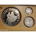 2001 - ESPAÑA - PESETAS- CASA DE LA MONEDA - SEGOVIA-PLATA-monedasbarcino.com