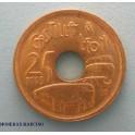 1995 - ESPAÑA - 25  PESETAS - ERROR CASTILLA LEON-monedasbarcino.com
