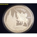 2007 -ESPAÑA -  50 EUROS - PLATA - CINCUENTIN - MIO CID -JUAN CARLOS I-monedasbarcxino.com