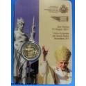 2011 - SAN MARINO - 2 EUROS -BENEDETTO - COINCAR-monedasbarcino.com