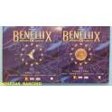 2007 - LUXEMBURGO - BELGICA - HOLANDA - BENELUX - EUROS- BLISTER- EUROSET-EUROPA