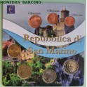 2018 - SAN MARINO - AÑOS VARIADOS -  EUROS -   7 MONEDAS CARTERA -monedasbarcino.com