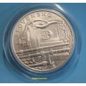 2013 - ESLOVAQUIA -10 EUROS- JOZEF KAROL - PLATA-monedasbarcino.com