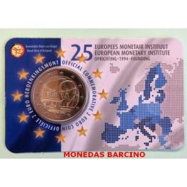 2019 - BELGICA- 2 EUROS -  INSTITUTO - EMI -  COINCARD