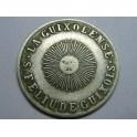 1906 - MONEDA COOPERATIVA - SAN FELIU DE GUIXOLS . 1 PESETA - LA GUIXOLENSE