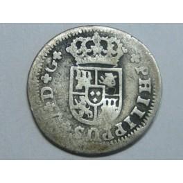 1730 - FELIPE V - 1/2 REAL - SEVILLA  - PLATA - ESPAÑA