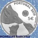 2019 PORTUGAL - 5 EUROS - LOBO IBERICO