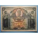 1907. 50 PESETAS.www.casadelamoneda.com
