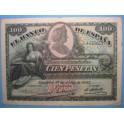 1907, 100 PESETAS. www.casadelamoneda.com