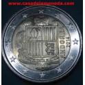 2014 EUROS - ANDORRA -CASADELAMONEDA