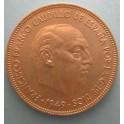 5 pesetas. 1949 * 49. www.casadelamoneda.com
