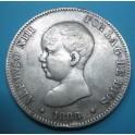 5 PESETAS 1888 MSM. www.casadelamoneda.com