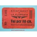 LA FLORESTA - 50 CTS - www.casadelamoneda.com
