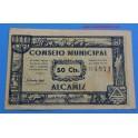 ALCAÑIZ- TERUEL-50 cts-www.casadelamoneda.com
