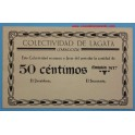 LAGATA - ZARAGOZA- 50 Cts- www.casadelamoneda.com
