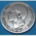 1 peseta 1884 . www.casadelamoneda.com