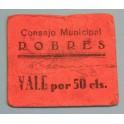 ROBRES - HUESCA-50 Cts-www.casadelamoneda.com