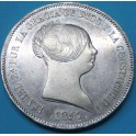 Isabael II 20 reales. Barcelona. www.casadelamoneda.com