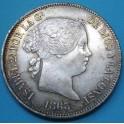 ISABEL II 20 relaes 1863. www.casadelamoneda.com
