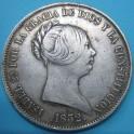 ISABEL II. 20 reales 1852. www.casadelamoneda.com