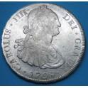 BOLIVIA. 1798. 8 R. CARLOS IV. www.casadelamoneda.com