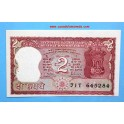 BILLETE INDIA- 2  rupèes-www.casadelamoneda.com
