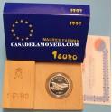 1997 - 1 EURO - MAURICE FARMAN -casadelamoneda.com