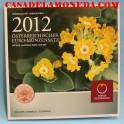 2012 AUSTRIA - EUROS - COLECCION BLISTER-casadelamoneda.com