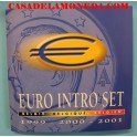 1999-2000-2001 - BELGICA - EUROS - BLISTER- COLECCION