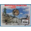 20152 - BELGICA- 5 EUROS - MONS- CULTURAL-CASADELAMONEDA