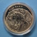 2014 - NIUE ISLAND - 1 DOLLAR-1/2 ONZA -TORTUGA