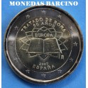 2007 - 2 EUROS - ESPAÑA - TRATADO ROMA