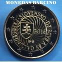 201- ESLOVAQUIA - 2 EUROS- EU-CASADELAMONEDA