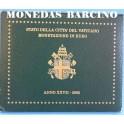 2005 - VATICANO -  EUROS - BLISTER-MONEDAS BARCINO-