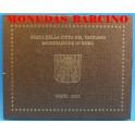 2011- VATICANO -  EUROS - BLISTER-MONEDAS BARCINO
