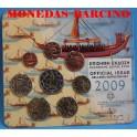 2009 - GRECIA  -  EUROS- EUROCOIN SET
