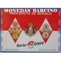 2009 - MONACO - EUROS - BLISTER