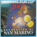 2002 - SAN MARINO - EUROS - BLISTER COLECCION