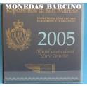 2005 - SAN MARINO - EUROS - BLISTER COLECCION