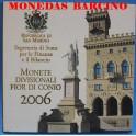 2006 - SAN MARINO - EUROS - BLISTER COLECCION
