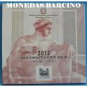 2012- ITALIA -  EUROS - PLATA- CAPILLA SISTINA-MONEDAS BARCINO