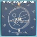 2009 - ITALIA -  EUROS - BLISTER- X ANIVERSARIO-MONEDAS BARCINO