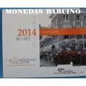 2014- HOLANDA - EUROS -BU-SET-NEDERLAND-MONEDAS BARCINO