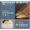 2011 - IRLANDA -  EUROS - ANIMALES - PECES