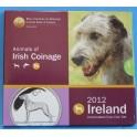 2012 - IRLANDA -  EUROS - ANIMALES - PERROS