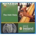 2013 - IRLANDA -  EUROS - BLISTER - MUSICA