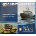 2014 - IRLANDA -  EUROS - BARCOS - BLISTER